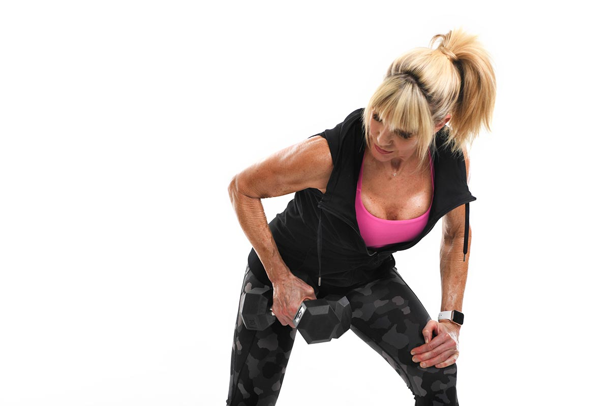 Keli Roberts weight lifting photo