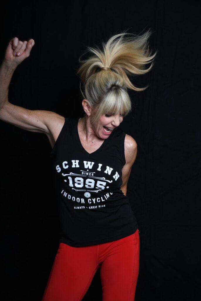 Keli Roberts dancing