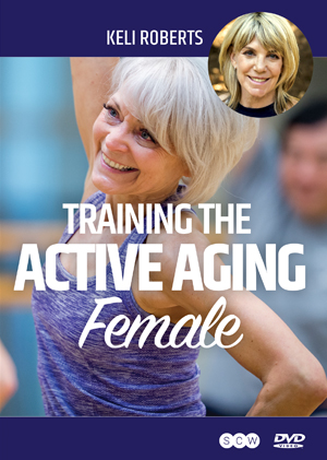 training the active aging femal dvd cover