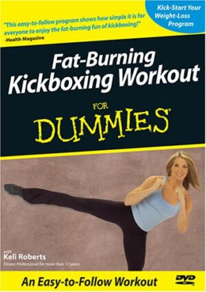 kickboxing for dummies dvd cover